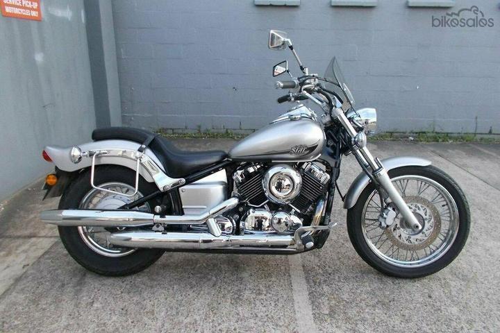 Yamaha V-Star XVS650 Custom Motorcycles for Sale in