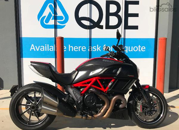 Ducati Diavel Carbon Abs Red Motorcycles With 6 Gears For Sale In