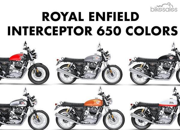 Royal Enfield Interceptor 650 Motorcycles for Sale in New