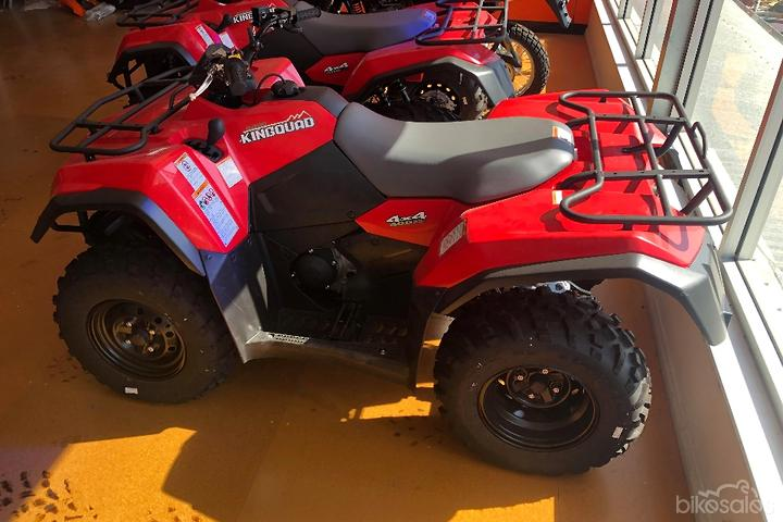 Suzuki KingQuad 400ASi 4x4 (LT-A400F) Motorcycles for Sale