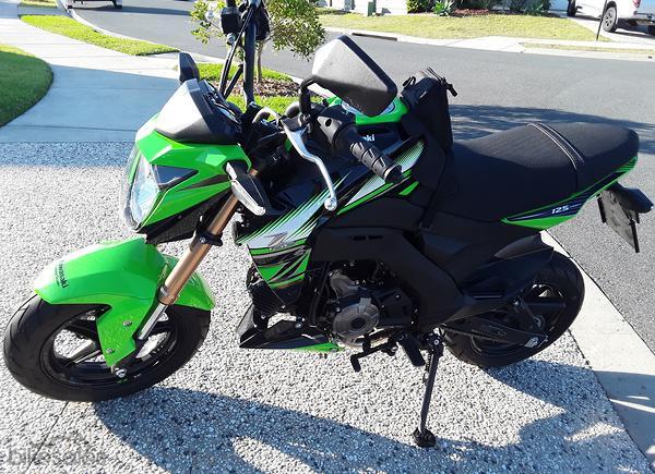 Kawasaki Z125 Pro Krt Replica Motorcycles For Sale In Queensland