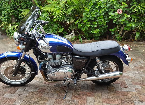 Triumph Bonneville T100 790cc Motorcycles With 5 Gears For Sale In
