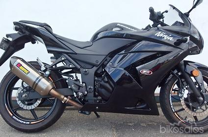2009 Kawasaki Ninja 250R (EX250J)