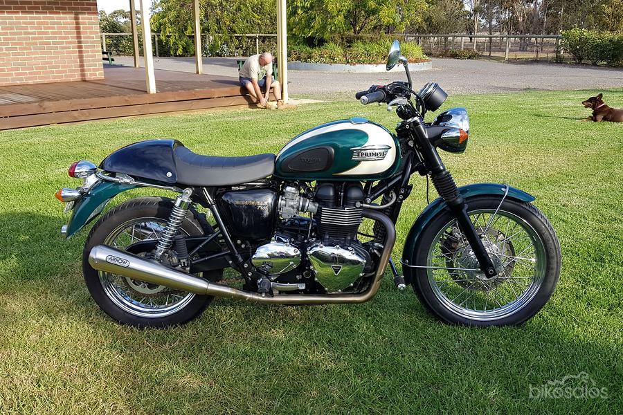2010 Triumph Bonneville T100 865cc Sse Ad 5855276 Bikesalescomau