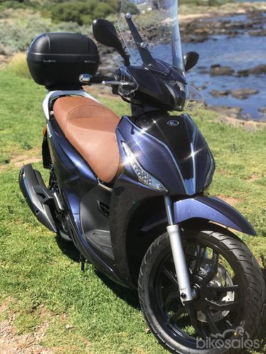 Long-term update: Kymco Downtown 300i - www bikesales com au