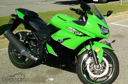 2011 Kawasaki Ninja 250R Special Edition MY12