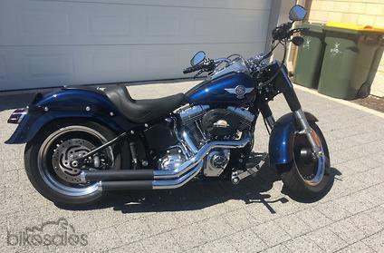 2012 Harley-Davidson Fat Boy Lo 1690 (FLSTFB)