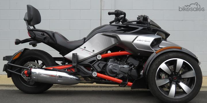 Spyder Motorcycle For Sale >> Used Can Am Spyder F3 S Se6 Motorcycles For Sale In