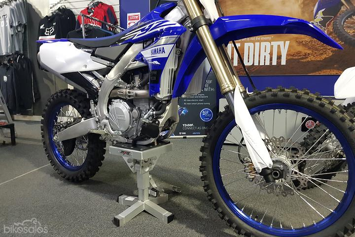 New Yamaha YZ450F Motorcycles for Sale in Australia