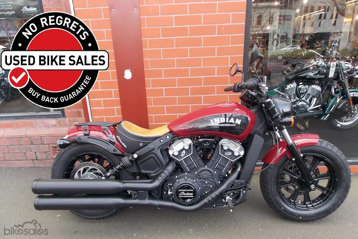 Indian Scout Bobber Motorcycles for Sale in Australia