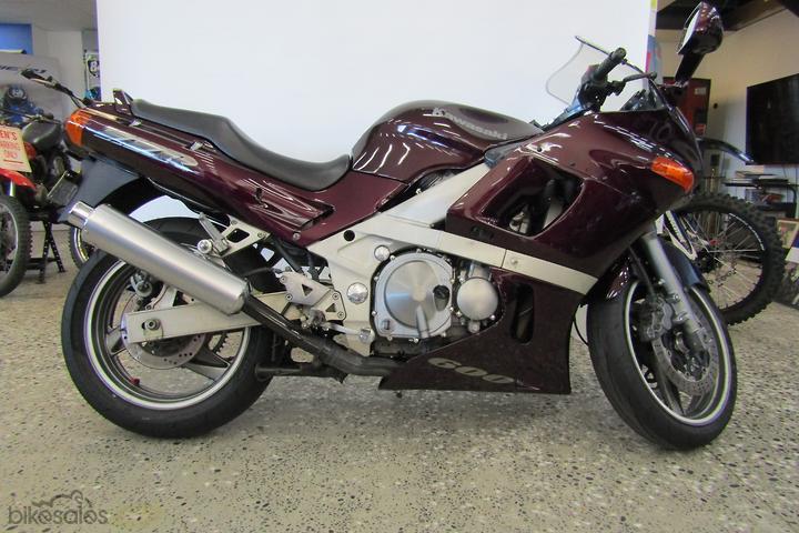 Kawasaki ZZ-R600 (ZX600) Motorcycles for Sale in Australia
