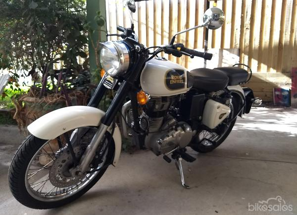 white royal enfield classic 350 motorcycles for sale in australia