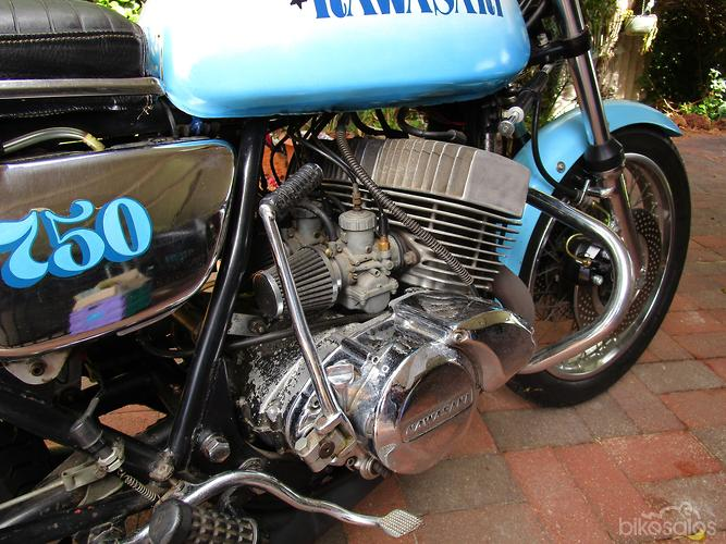 Kawasaki H2 750 Mach IV Motorcycles for Sale in Australia